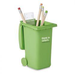Pot à stylos poubelle