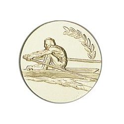 Pastille dorée Aviron - 25 ou 50 MM