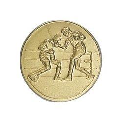 Pastille dorée Boxe - 25 ou 50 MM