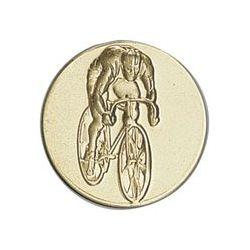 Pastille dorée Cyclisme - 25 ou 50 MM
