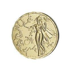 Pastille dorée Victoire- 25 ou 50 MM