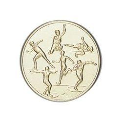 Pastille dorée Athlétisme- 25 ou 50 MM