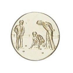 Pastille dorée Boules - 25 ou 50 MM