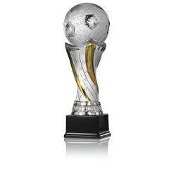 Trophée Ballon Football personnalisable