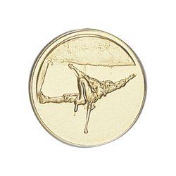 Pastille dorée Escalade 25 ou 50 MM