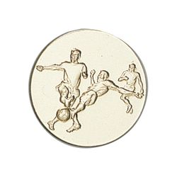 Pastille dorée Football 25 ou 50 MM