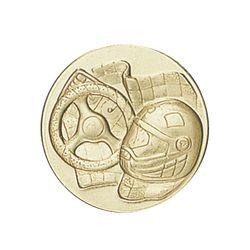 Pastille dorée Sports mécanique 25 ou 50 MM