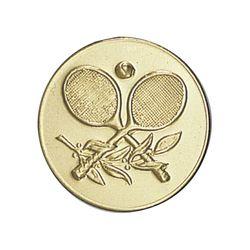 Pastille dorée Tennis - 25 ou 50 MM