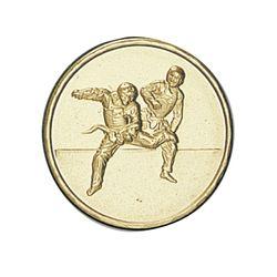 Pastille dorée Taekwondo 25 ou 50 MM
