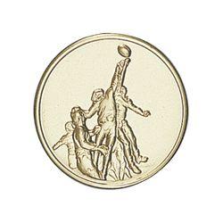 Pastille dorée Rugby 25 ou 50 MM