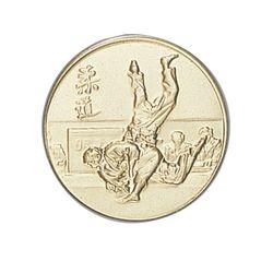 Pastille dorée Judo 25 ou 50 MM