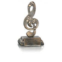 Trophée Musique personnalisé