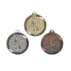 Médaille Foot Or, Argent et Bronze - 32MM