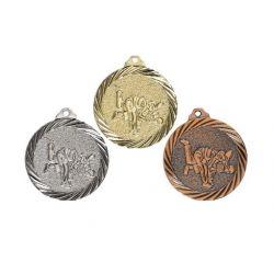 Médaille Judo Or, Argent et Bronze - 32MM