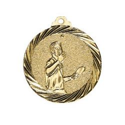 Médaille Tennis de Table Or - 32MM