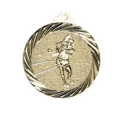 Médaille Tennis Or - 32MM