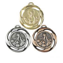 Médaille frappée BASKET Or, Ar, Br - 40MM