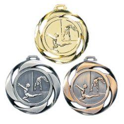 Médaille frappée GYMNASTIQUE Or, Ar, Br - 40MM