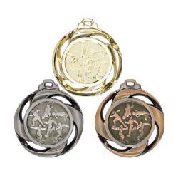 Médaille frappée ATHLETISME Or, Ar, Br - 40MM