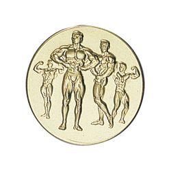 Pastille dorée Musculation 25 ou 50 MM
