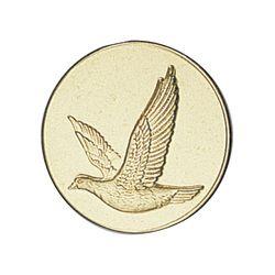 Pastille dorée Oiseaux - 25 ou 50 MM