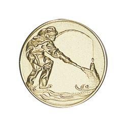 Pastille dorée Pêche - 25 ou 50 MM