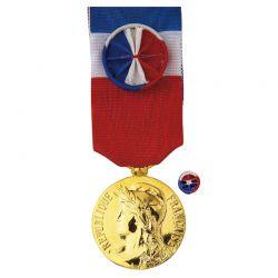 Médaille Ancienneté du Travail - 30 ans - Vermeil