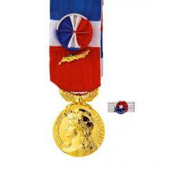 Médaille Ancienneté du Travail - 35 ans - Or