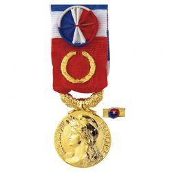 Médaille Ancienneté du Travail - 40 ans - Grand Or