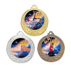 Médaille Laurier Personnalisable - 70MM