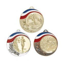 Médaille France Personnalisable - 70MM