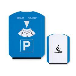 Disque de stationnement - grattoir personnalisé
