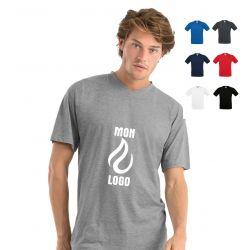 T-shirt Homme Col V personnalisé