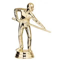 Figurine BILLARD dorée FABICADO LILLE