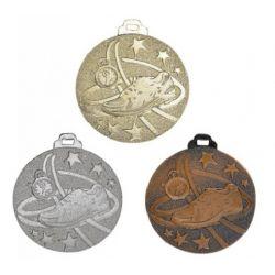Médaille COURSE Métal Massif - 50MM