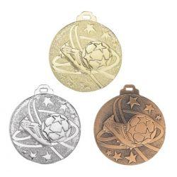 Médaille FOOTBALL Métal Massif - 50MM
