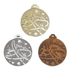 Médaille ATHLETISME Métal Massif - 50MM