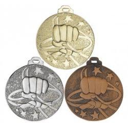 Médaille COMBAT Métal Massif - 50MM