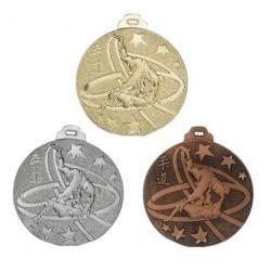 Médaille JUDO Métal Massif - 50MM