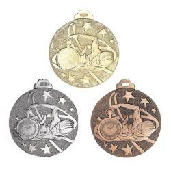 Médaille NATATION Métal Massif - 50MM