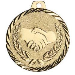 Médaille Amitié Métal Massif - 50MM