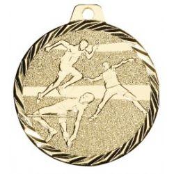 Médaille Athlétisme Métal doré - 50MM