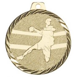 Médaille Handball Métal doré - 50MM