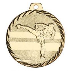 Médaille Karaté Métal doré - 50MM