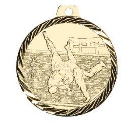 Médaille Judo Métal doré - 50MM