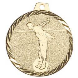 Médaille Pétanque Métal doré - 50MM