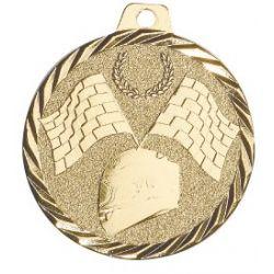 Médaille Rallye Métal doré - 50MM