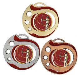 Médaille Archer Doré, Argent ou Bronze - 50MM