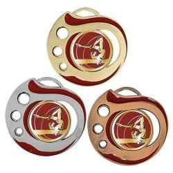 Médaille Gym Doré, Argent ou Bronze - 50MM