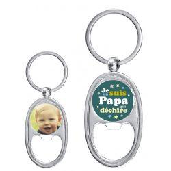 Porte-clés décapsuleur Personnalisé